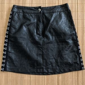 SEEK THE LABEL Black Mini Skirt